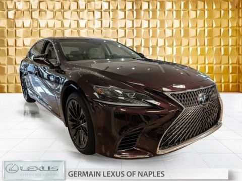 2020 Lexus LS 500 Inspiration Series